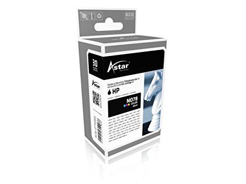 Preisvergleich Produktbild Astar AS15078 Tintenpatrone kompatibel zu HP NO78 C6578A, 1200 Seiten, color