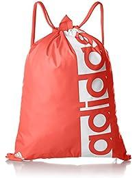 adidas FEF Gymbag Mochila, Unisex Adultos, Rojo (Rojo/Dorfue), 24x15x45 cm (W x H x L)