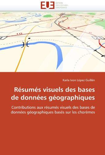 Résumés visuels des bases de données géographiques