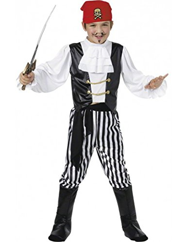 Childrens-pirata-Deluxe-nio-disfraz