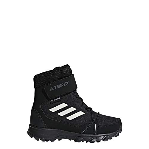 adidas Unisex-Kinder Terrex Snow Cf Cp Cw K Schneestiefel, Schwarz (Negbas/Blatiz/Gricua 000), 37 1/3 EU Adidas Boot