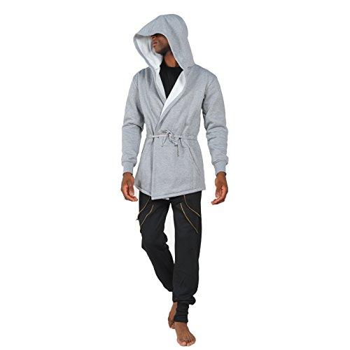 Pizoff Herren Hip Hop High Street Fashion Lang geschnittenes Trägershirt Y1139-Gray