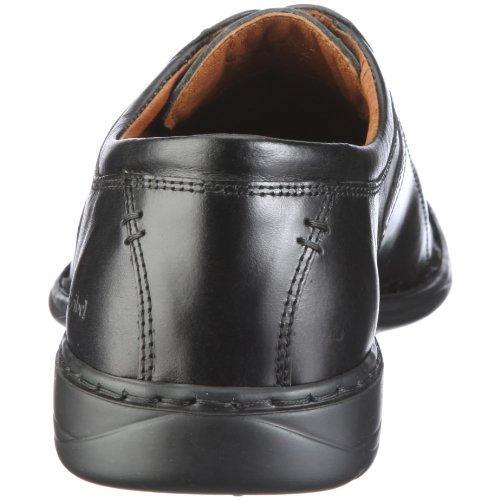 Josef Seibel Schuhfabrik Spike Herren Derby Schnürhalbschuhe Schwarz (600 schwarz)