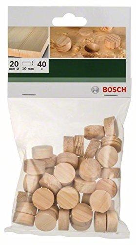 Bosch 2 609 255 321 - Espigas de madera pack de 40
