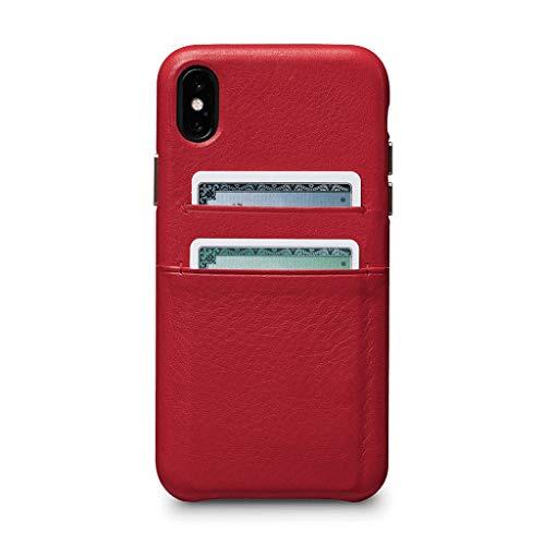 Sena Kyla Schutzhülle für iPhone, zum Aufstecken, rot, iPhone XS Max Sena Iphone Flip Case