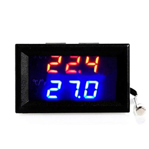 SO-buts Digitaler Microcomputer-Thermostat, digitaler LED-Mikrocomputer-Thermostat-Controller-Schalter Temperatursensor (24V) -