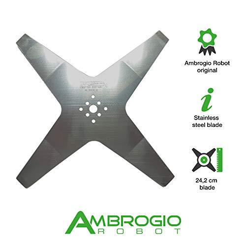 Ambrogio Robot Lama di Taglio per L60 da 25 cm a Stella...