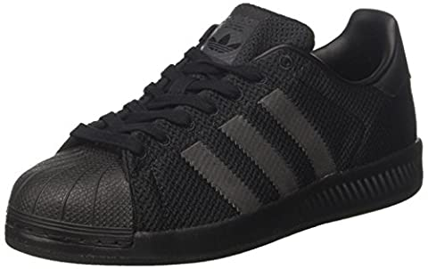 adidas Superstar Bounce, Chaussures de Basketball Homme, Noir (Cblack/Cblack/Cblack), 44