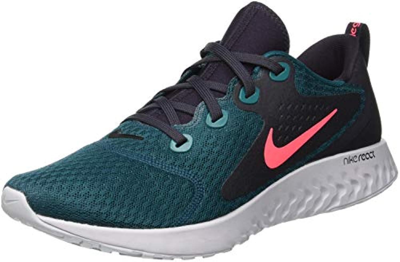 Nike Legend React, Scarpe da Fitness Uomo, MultiColoreeee (Geode Teal Hot Punch Oil Vast grigio 300), 44 EU | La qualità prima  | Uomini/Donna Scarpa