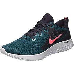 Nike Legend React, Zapatillas de Running para Hombre, Azul (Geode Teal/Hot Punch/Oil Grey/300
