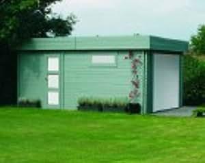 SOLID SUPERIA Garage  Modern Bois 538 x 358 x 256 cm S8935