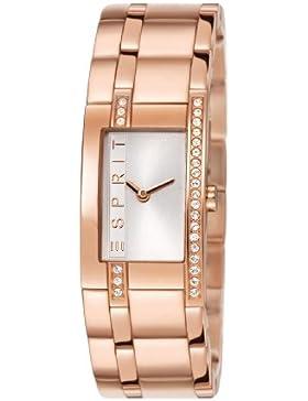 Esprit Damen-Armbanduhr Houston Rose Analog Quarz ES000M02121