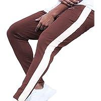 Pantalón Chandal Hombre Deportivos Largos Pantalones Jogger Casuales Lavados Costura Rayas Sueltos Pantalón con cordón Ajustable Cómoda Cintura Elástica MMUJERY