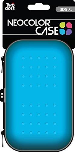 Two Dots - Funda Neocolor, Color Azul (Nintendo 3Ds XL)