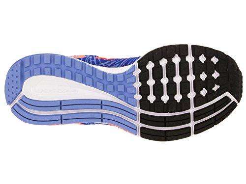 Nike Wmns Air Zoom Pegasus 32 Print Scarpe da ginnastica, Donna Azul (Racer Blue / Hypr Orange-Chlk Bl)