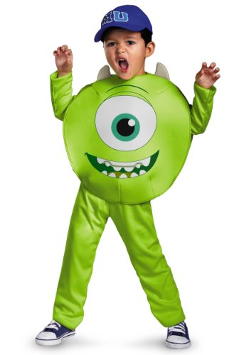 Kinder Kostüm Inc Monsters - Toddler Classic Mike Fancy Dress Costume Large (4/6)