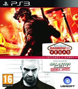 Splinter Cell Double Agent + Rainbow 6 Vegas Compilation (PEGI)(PS3) (New)