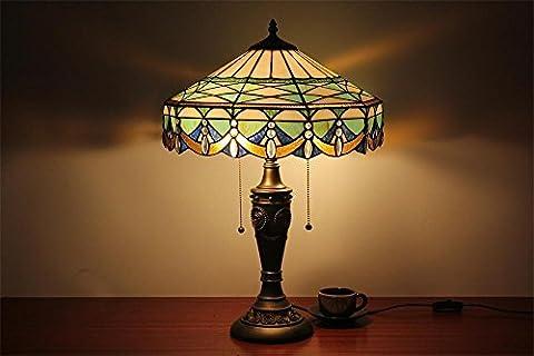 TOYM UK-16 pouces main œuvre de la lampe Tiffany minimaliste