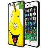 Fruit Series Iphone 6S Plus/6 Plus Funda, Cute Pear Iphone 6S Plus/6 Plus Phone Funda TPU Silicone Funda Funda Cover