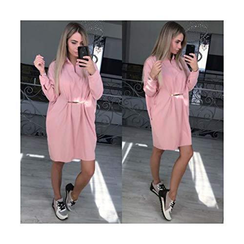 Trendy Women Boyfriend Style Autumn Winter Long Sleeve Jumper Baggy Top Slim Party Bodycon Mini Dress White L