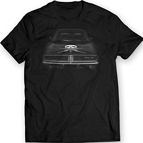 dodge-charger-r-t-1969-t-shirt-unisexe-noir-holiday-cadeau-anniversaire-m-noir