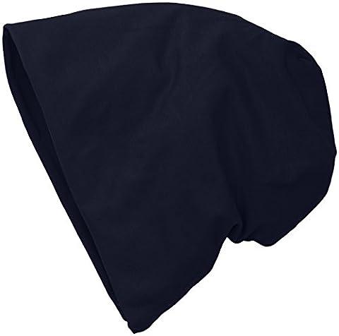 MSTRDS Jersey Beanie, Bonnets en Mailles Femme, Blau (Navy 3416), Taille Unique