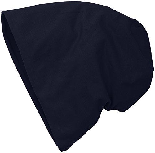 MSTRDS Unisex Erwachsene Jersey Beanie Strickmützen,,per pack Blau (navy 3416),One...