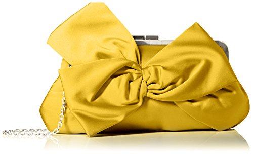 la-regale-fabric-w-large-flower-clutch-yellow-one-size