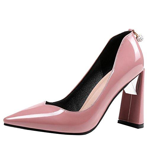 MissSaSa Donna Scarpe Elegante Rosa