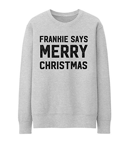 Frankie Says Merry Christmas Unisex Pullover