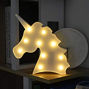 LED Unicornio Luces Nocturnas, LED