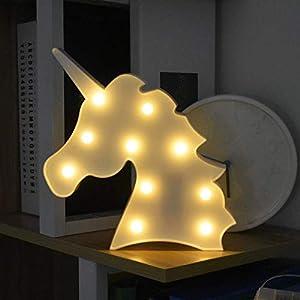 LED Unicornio Luces Nocturnas, LED