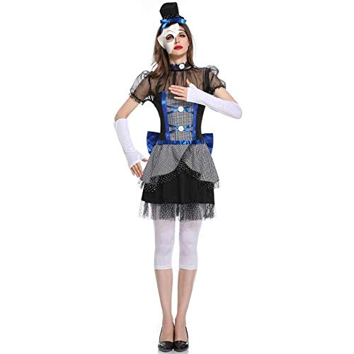 stüm Vampir Kostüme Gothic Vampir Kostüm Geist Doll Dark Ghost Bridal Bühne Outfit ()