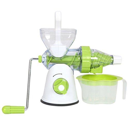 Elektro Entsafter Entsafter Mini multifunktions Manuelle Fruchtsaft Entsafter Hand Entsafter Kind Mixer Hause (kapazität: 400 ml)