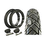 Vee Rubber R23416094B Set - Reifen 2 3/4x16 (Vrm094) 43 J, Schläuche Plus Felgenbänder