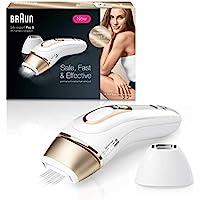 Braun Silk·Expert Pro 5 PL5137 Depiladora Luz Pulsada IPL Última Generación, Depilación Permanente, Cabezal Precisión, Cara y Cuerpo, Apta para Hombre