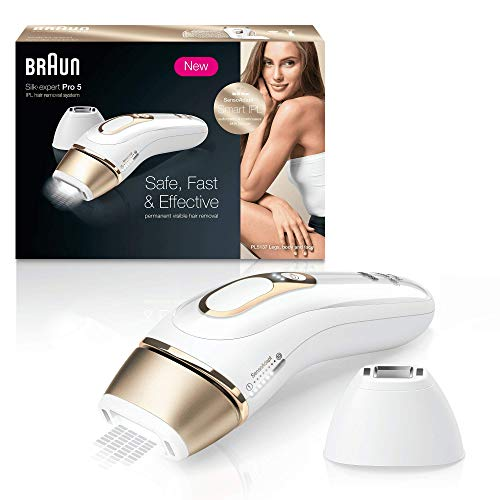 Braun Silk·Expert Pro 5 PL5137 Depiladora Luz