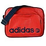 adidas Neo Messenger Airliner BAg Umhängetasche Tasche Collegiate Red Navy, Farbe:Rot, Größe:One Size