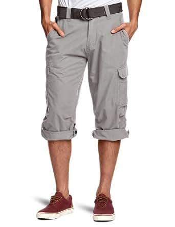 Schott NYC  Cargo US 50 Men's Shorts Light Grey Medium/Large