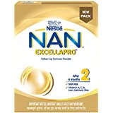 Nestle NAN EXCELLAPRO 2 Follow-Up Formula-Powder – After 6 months, Stage 2, 400g Bag-In-Box Pack