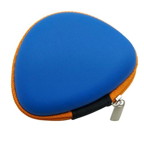 Blau Automatische Vakuum (Igemy Geschenk für Fidget Hand Spinner Dreieck Finger Spielzeug Automatische Tasche Box Tragetasche Packet (Blau))