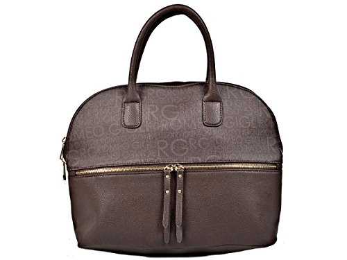 Romeo Gigli Shopping Bag, Testa di moro - Model 0432