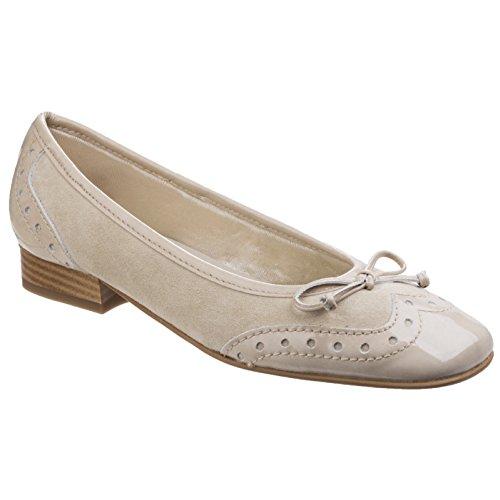 Riva, Ballerine donna beige bianco