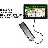 Spartechnik - Caricabatterie d'emergenza, con modulo esterno per batterie, per
