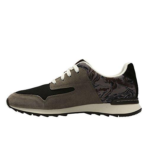 Femme Gris Bassi Clarks Sneakers Floura Mix wqISga8