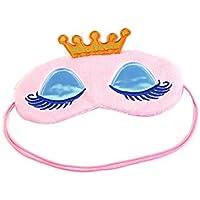 Drawihi Augenmaske Damen Prinzessin Augenbinde Schlafmaske Reisen Schlaf-Beihilfen Komfortablen (Rosa) 17*11cm preisvergleich bei billige-tabletten.eu