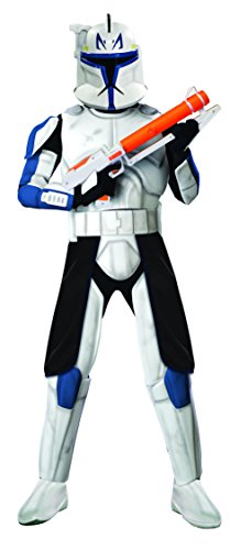 Kostüm Captain Wars Rex Star - Kostüm-Set Clone Trooper Captain Rex Deluxe, Größe M/L