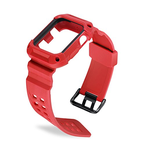 Correa para Apple Watch 38mm/42mm Apple Watch correa Reemplazo de silicona para iWatch 38mm/42mm Series 2serie 1Sport Nike + Edition