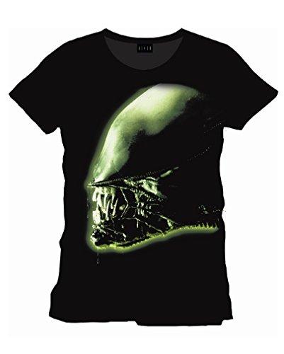 Alien-Head-Film-T-Shirt