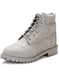"""Timberland 6"""" Classic Garcon Boots Gris"""